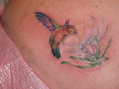 Cool Hummingbird Tattoos images