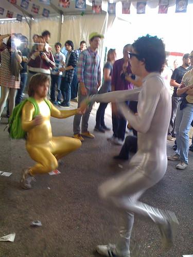 Body Suit Dancers @ SXSW 2008