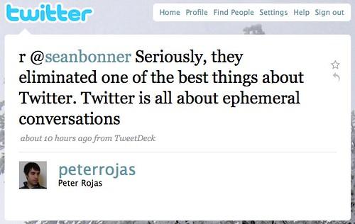 Twitter / Peter Rojas: r @seanbonner Seriously, t ...