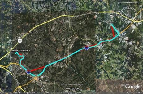GPS Track Comparison