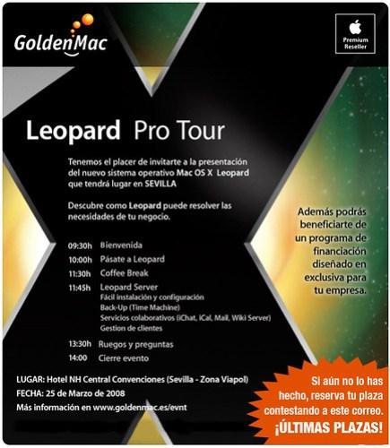 Invitación Leopard Pro Tour