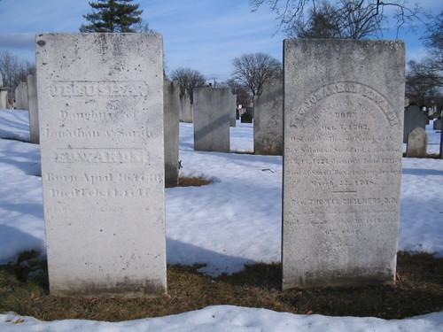 burial site of Jerusha Edwards