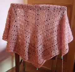 Eva's Shawl - in progress