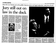 Jury  still out on law in the dock - The Scotsman 2 March 1998