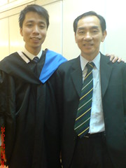 Andrew Ong and dad