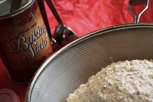 Soda and flour