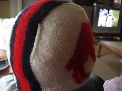 throwback helmet hat