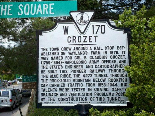 Crozet sign by jimduncancville