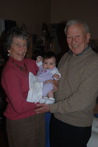 Great Great Aunt Andrea, Clara, and Great Great Uncle Alan
