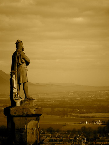 Robert the Bruce Surveys the Hillfoots