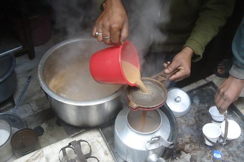 Old Delhi_小巷弄1-6煮印度茶