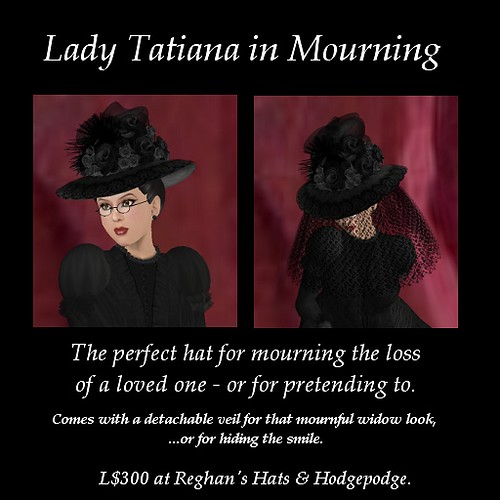 Lady Tatiana in Mourning