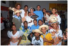 Festival Junino promove a interação entre crianças atendidas pelo Escola Aberta. Foto: Passarinho/Pref.Olinda
