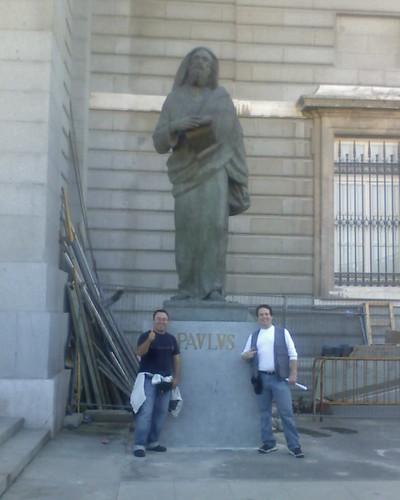 Alexis, Pablo y yo