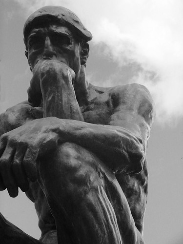 El Pensador de Rodin - Flickr Isa Roca