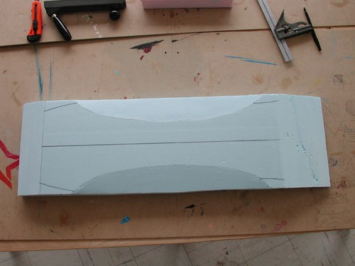 Shaping a foam mold ministry of wood skateboard builder for Longboard template maker