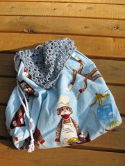 Sock Monkey Bag