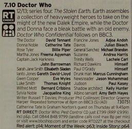 RADIO TIMES - The Stolen Earth Cast