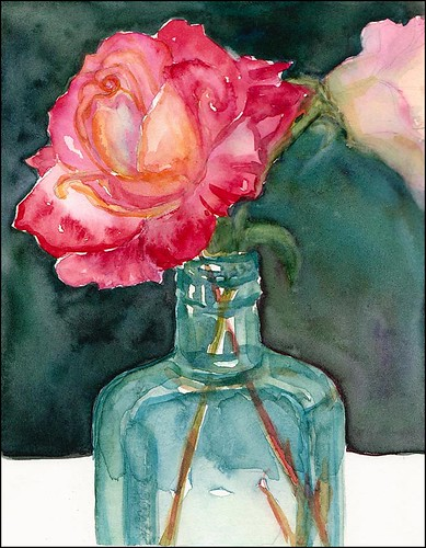 Roses in a Bottle