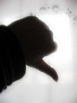 Thumbs-down