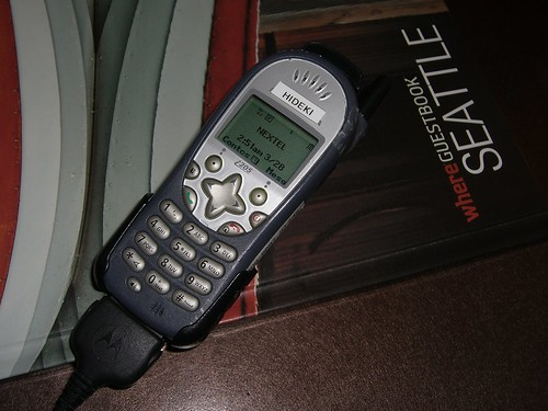 Nextel PTT Used at the Con