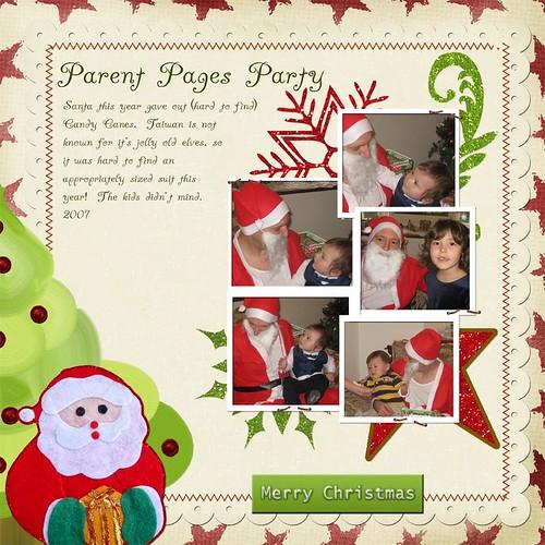 Parent Pages Santa