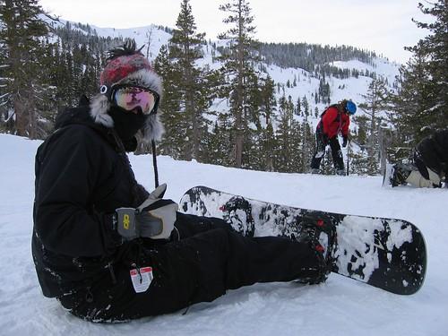 Dave - Snowboarding Ninja