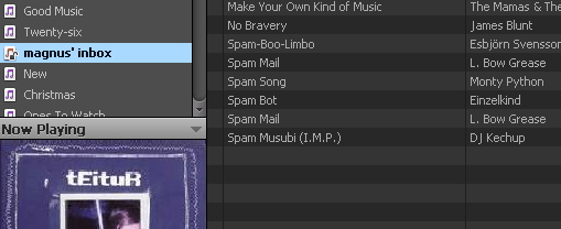 Spotify spam