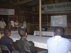 Les stagiaires étudiants de l'Université de Toulouse et de Majunga à Daraina