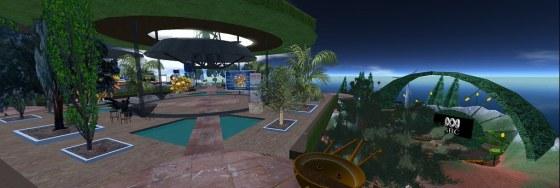 ABC Island Second Life Panorama 3000 wide!