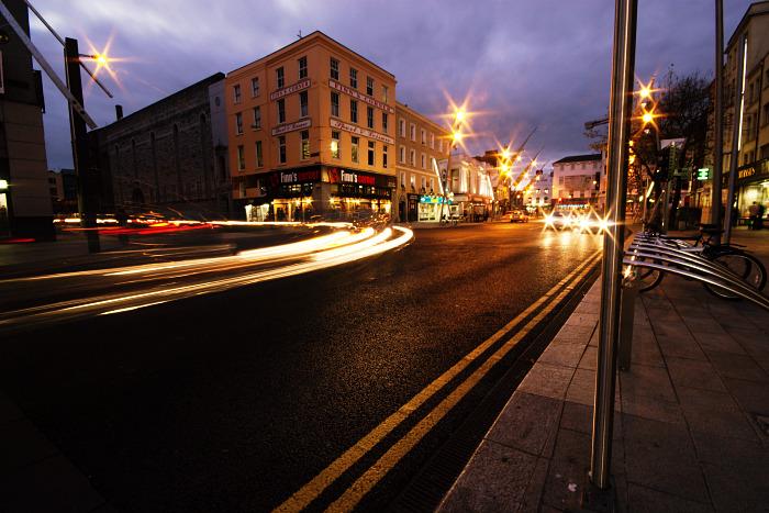 The lights at Finn's Corner