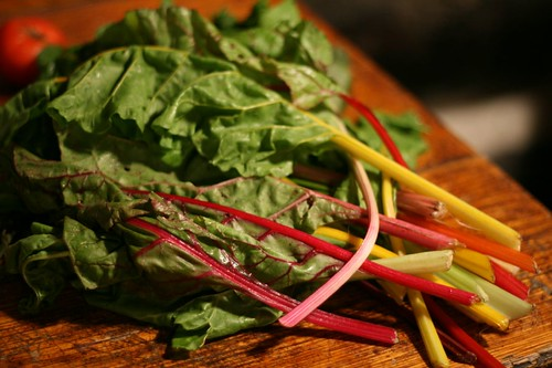 Rainbow Swiss Chard...again.