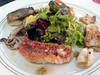 Villa Cipriani - seafood salad
