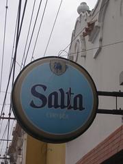 La biere Salta, la biere qui se boit des la mañana!
