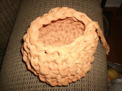 Yarn Caddy Basket