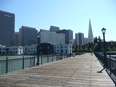 Transamerica Pyramid from pier