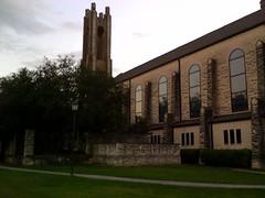 De kapel van de universiteit