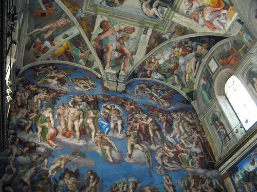 Michelangelo - The Last Judgment, Sistine Chapel, The Vatican