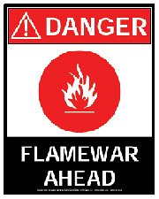 Flame War Ahead!