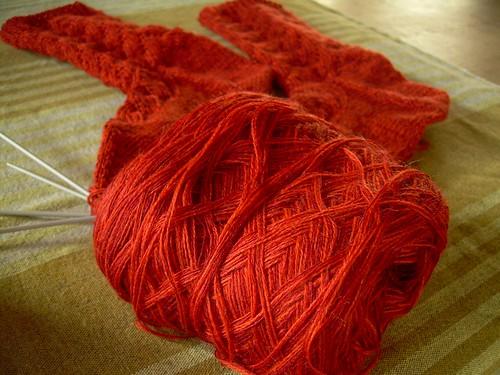 Yarn leftovers