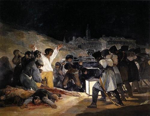 Tres de Mayo Francisco de Goya