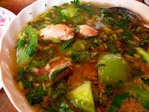 Chicken Sour Soup - Cambodia