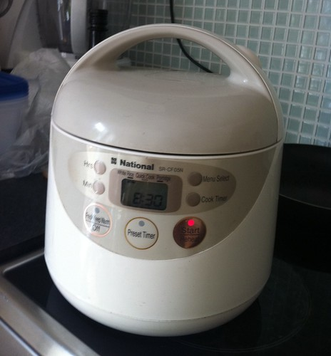 My fuzzy logic rice cooker