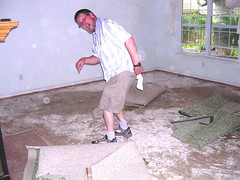 Repair Chronicles #1:  Stained Concrete Floors