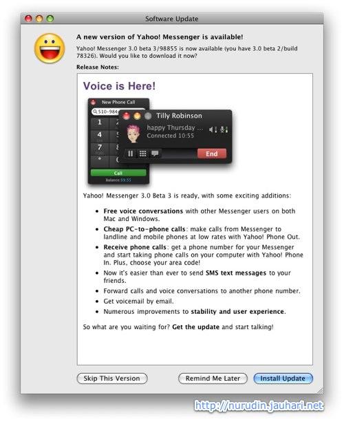 Yahoo Messenger 3 Beta-3