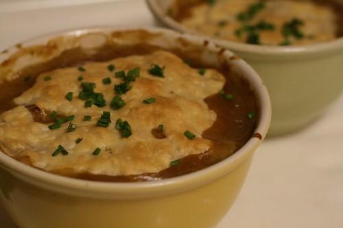 Bean Turnip Mushroom Potpies