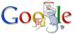 Google logo año nuevo chino