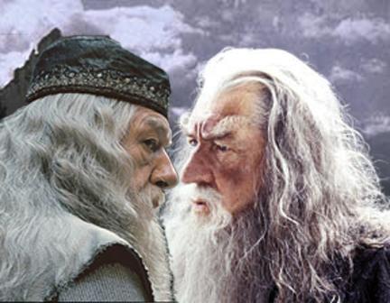 Dumbledore falls for Grindwald