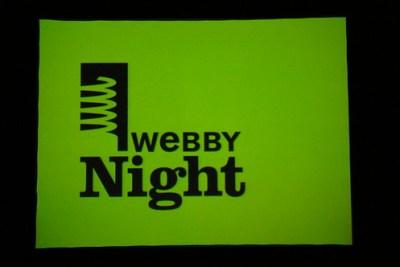 Webby Night