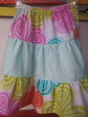 Sister's Tiered Skirt